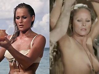 Celebrities SekushiLover - Bond Girls Dressed vs Undressed