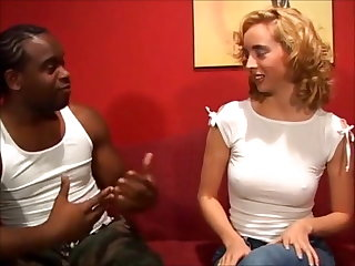 Ballbusting Young Kelly ruined by big black cock