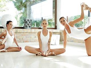 BBC Lesbian ballerinas