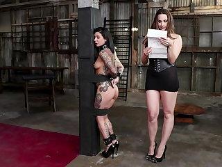 Bondage Joanna Angel Serves