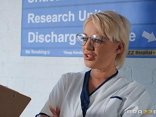 Doctor Slut Nurse Fucks Dr. Monster Cock