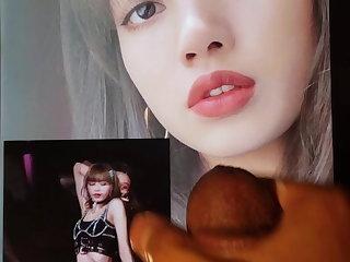 Masturbation Lisa Blackpink Cum Tribute