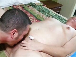 Voyeur Big grandma fucked by bull while hubby recording