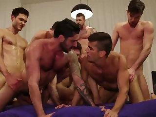 Group Sex Fucking Bareback HD 074