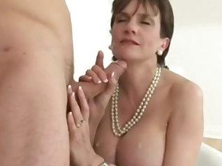 Mom LS Big Boobs Cum Compilation
