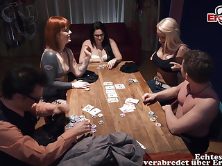 Party German skinny blonde petite milf fucked after Berlin Sexparty