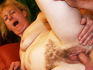 Hungarian Birthday fuck for 80 year old mom