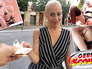 CFNM GERMAN SCOUT - MATURE YELENA'S PICKUP AND FUCK AT STREET CAST