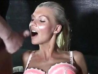 Danish Danish blonde slut in club 3