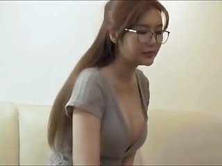Massage Chinese sexy busty English teacher seduced during visit