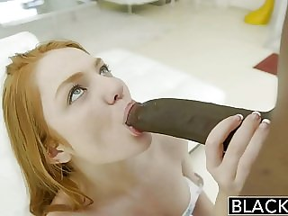 Redheads BLACKED RedHead Teen Enjoys Interracial Sex