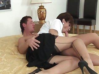 Female Choice mature and boy